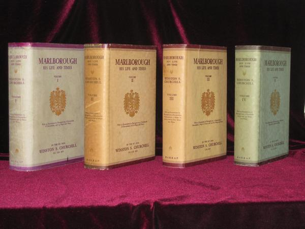 MARLBOROUGH: His Life and Times. INSCRIBED TO THE DUKE OF BEDFORD. Winston S. Churchill.