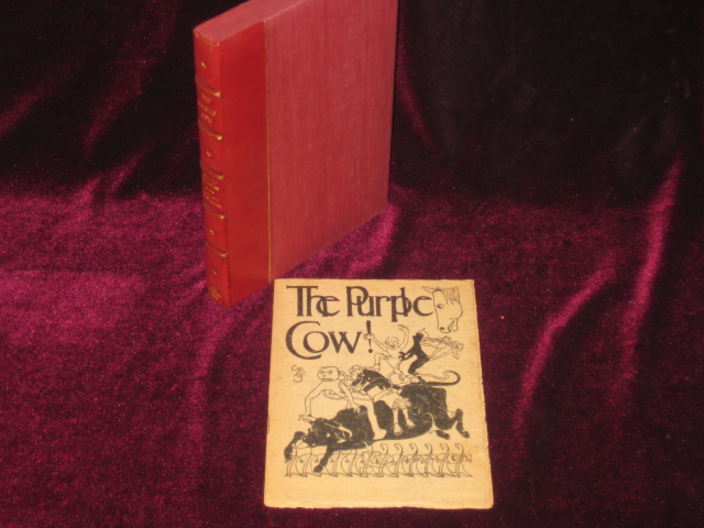 THE PURPLE COW. Gellett Burgess.