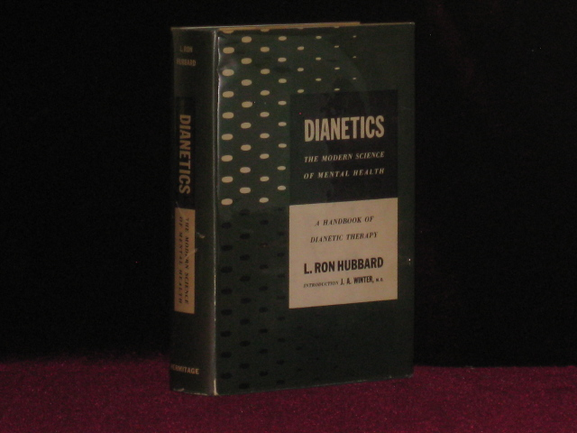 DIANETICS the Modern Science of Mental Health. L. Ron Hubbard.