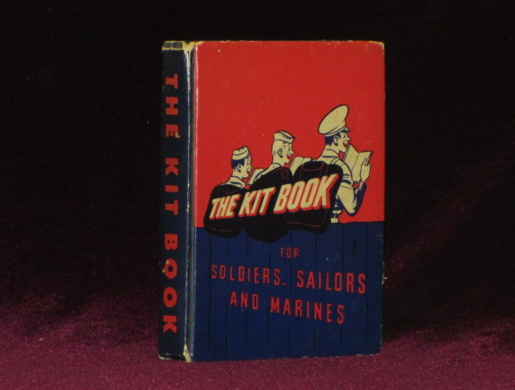 """THE KITBOOK. For Soldiers, Sailors, and Marines. (Contains """"The Hang of It"""" By J. D. Salinger). J. D. . R. M. Barrows SALINGER, Contributor."""