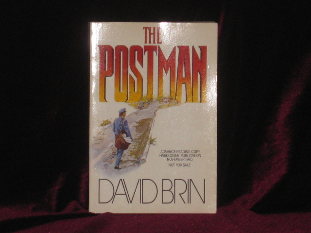 THE POSTMAN. David BRIN, SIGNED.