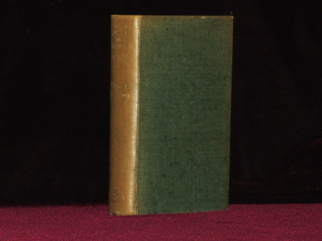 THE ART OF THOMAS HARDY. Lionel Johnson, from the Library of Estelle Doheny.