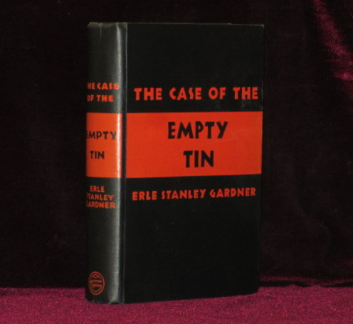 The case of the empty tin erle stanley gardner first edition the case of the empty tin publicscrutiny Image collections