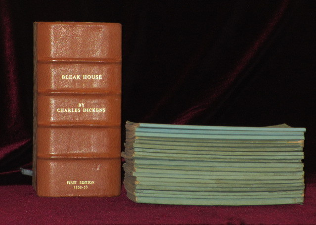 Bleak House (In the Original Monthly Parts and with 8 Parts Unopened). Charles Dickens.