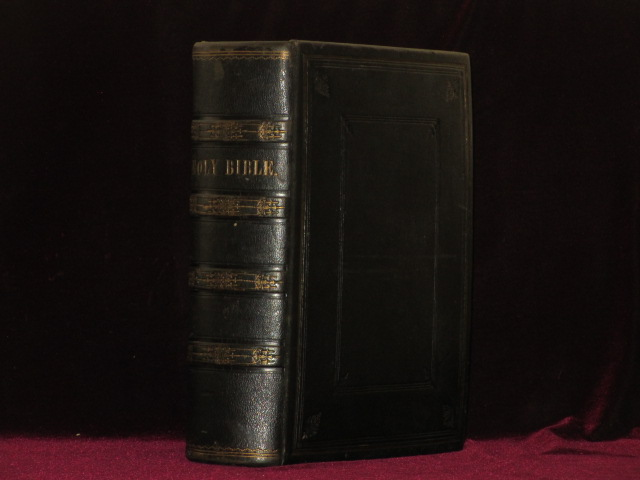 THE HOLY BIBLE: Containing the Old and New Testaments, with References, Numerous Critical and Explanatory Notes, and a Condensed Concordance. Bible.