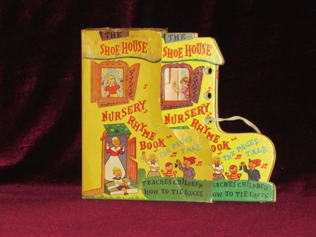 The Shoe House Nursery Rhyme Book. The Pages Talk. Teaches Children How to Tie Laces.