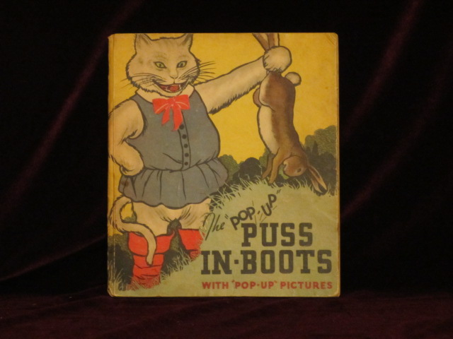 PUSS IN BOOTS. The Illustrated Pop-Up Edition. C. Carey CLOUD, Harold B. Lentz.