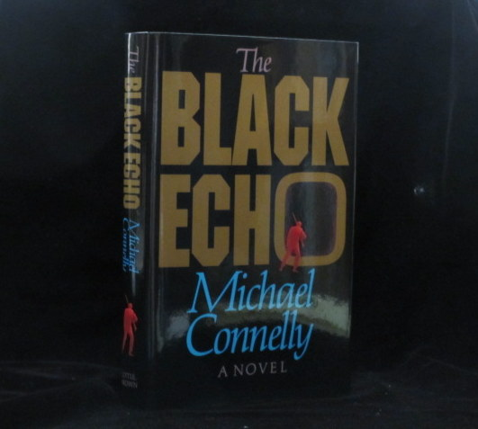 THE BLACK ECHO. Michael Connelly, SIGNED.