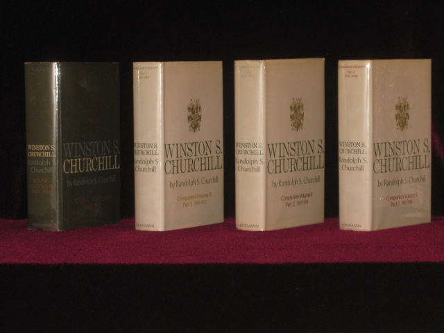 Winston S. Churchill, Young Statesman (1901-1914), Volume II [together with] Companion Volume II, Part 1, Companion Volume II, Part 2, Companion Volume II, Part 3. Randolph S. Churchill.