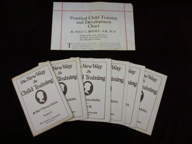 The New Way In Child Training Six Lessons With Practical And Development Chart