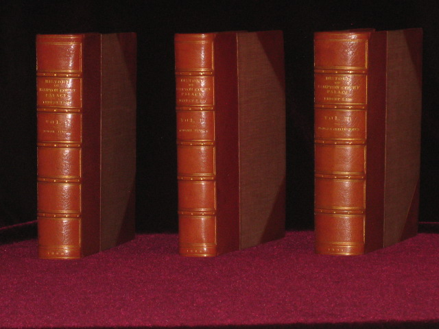 The History of Hampton Court Palace (Fine Bindings, 3 volumes). Ernest Law, B. A.
