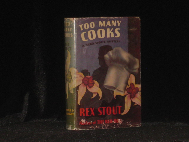Too Many Cooks. A Nero Wolfe Mystery. Rex Stout.