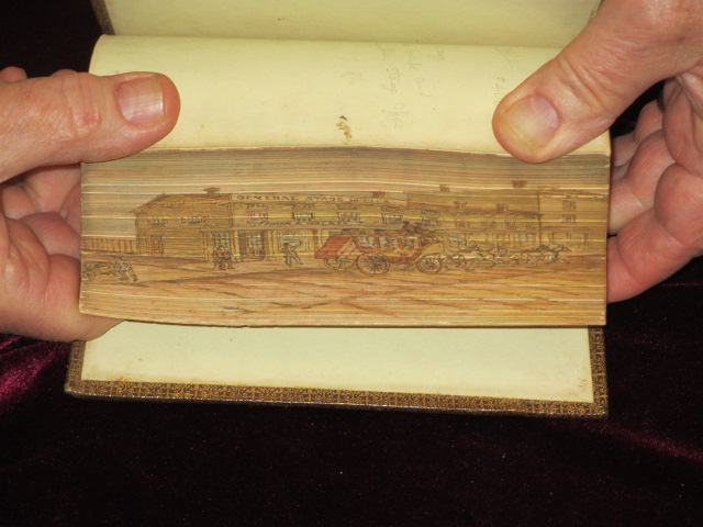 THE POETRICAL WORKS OF SIR WALTER SCOTT. [With Beautiful Fore-Edge Painting]. Sir Walter Scott.