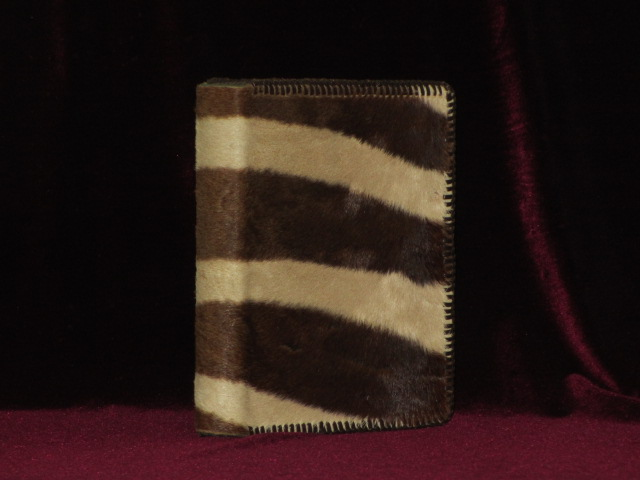 Rowland Ward's Record of Big Game. XI Edition (Africa) Zebra Skin Binding. Gerald A. Best, Compiled and.
