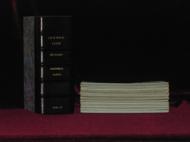 The Posthumous Papers of the Pickwick Club - 20 Parts in 19 - A NEAR PRIME SET, Having 8 of 11 Points Required. Charles Dickens.