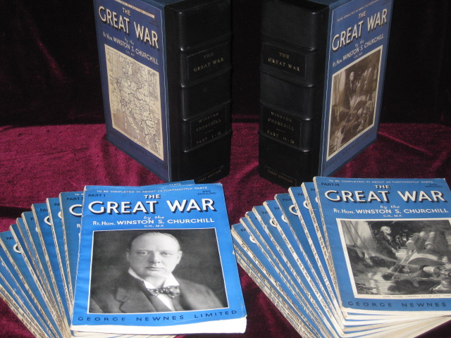 The Great War [In Original Fortnightly parts]. Sir Winston Churchill.