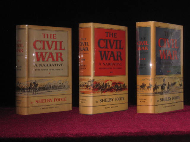 The Civil War. Inscribed to Anne Meriwether. Shelby Foote.