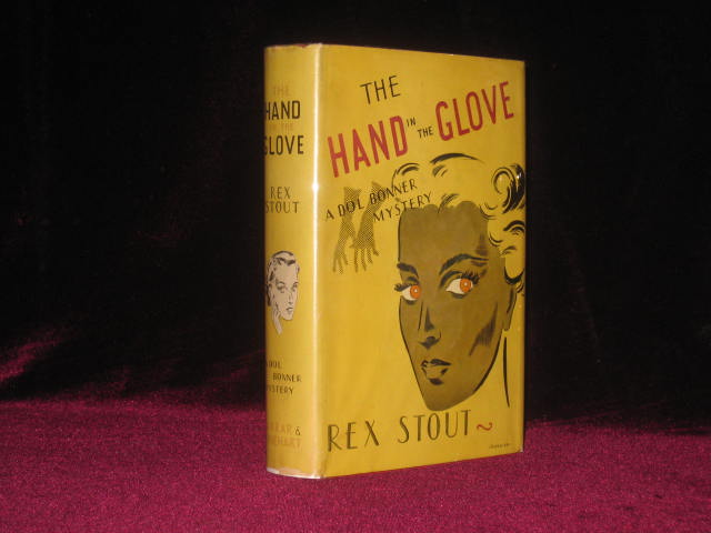 The Hand in the Glove. Rex Stout.