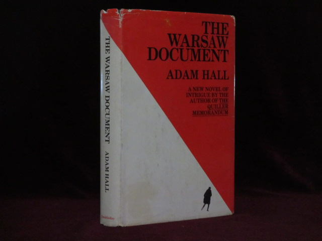 The Warsaw Document (Inscribed). Adam Hall.