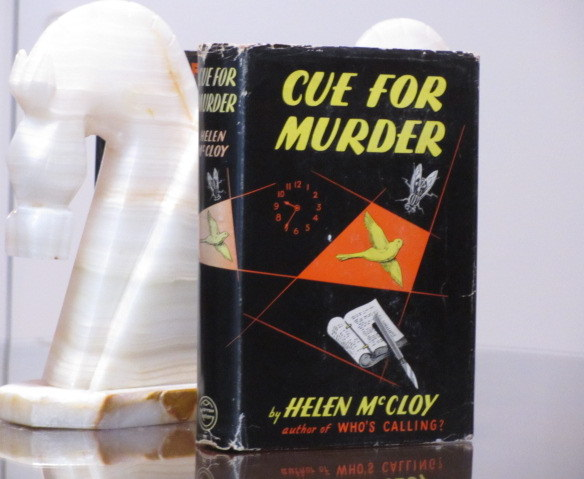 Cue For Murder (Inscribed). Helen McCloy.