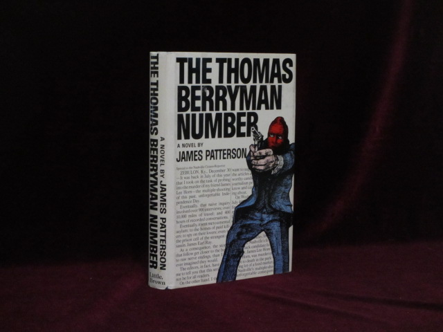 The Thomas Berryman Number (Signed). James Patterson.