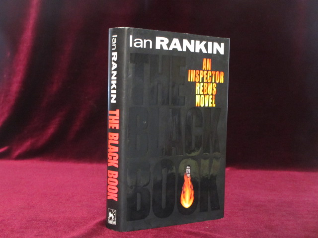 The Black Book (Signed and with drawing). Ian Rankin.