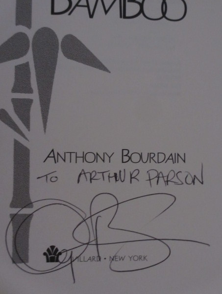 Gone Bamboo (Inscribed). Anthony Bourdain.
