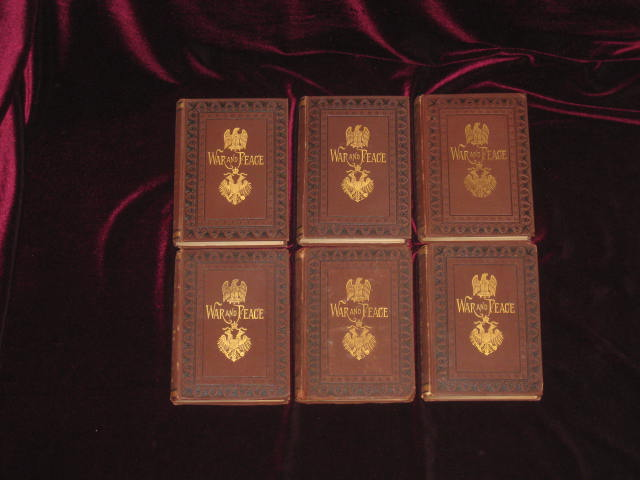 WAR AND PEACE A Historical Novel. Leo Tolstoy, Count L. N. Tolstoi.