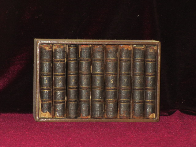 THE WORKS OF SHAKESPEAR IN 9 VOLUMES with a Glossary, Carefully printed from the Oxford edition in Quarto. Shakespeare William, Shakespear.