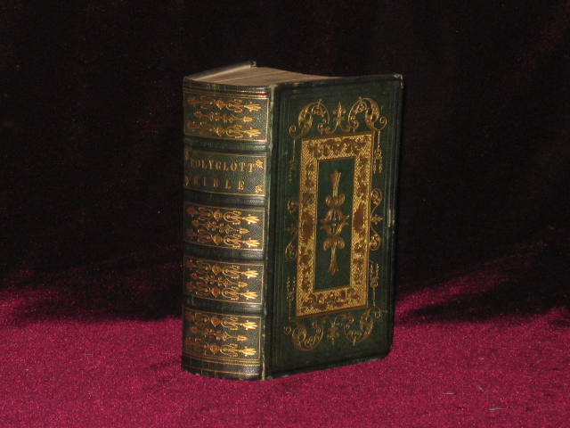 THE ENGLISH VERSION OF THE POLYGLOTT BIBLE, Containing the Old and New Testaments. BIBLE.
