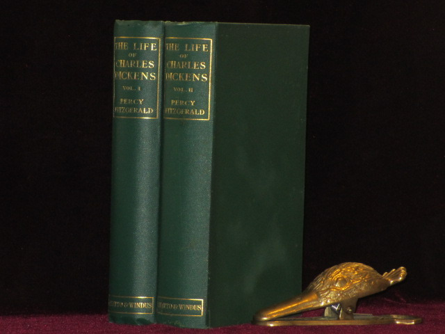 THE LIFE OF CHARLES DICKENS As Revealed in His Writings. Two Volumes. Percy Fitzgerald.
