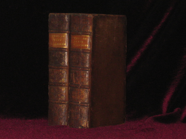 THE LETTERS OF PLINY THE YOUNGER with Observations on Each Letter; and an Essay on Pliny's Life Address to Charles Lord Boyle By John Earl of Orrery. Two Volumes. Pliny the Younger, Gaius Plinius Caecilius Secundus.