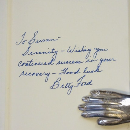 BETTY a Glad Awakening. Betty Ford, SIGNED.