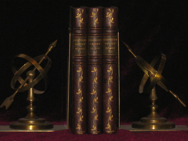 GRIFFITH GAUNT; or, Jealousy. Three Volumes. Charles Reade.