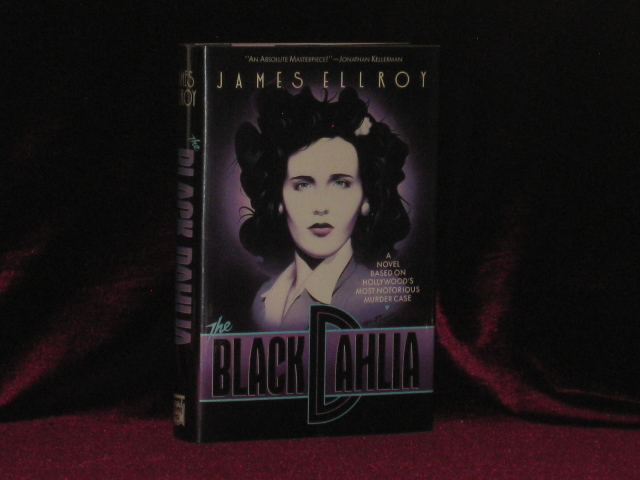 THE BLACK DAHLIA. James Ellroy, SIGNED.