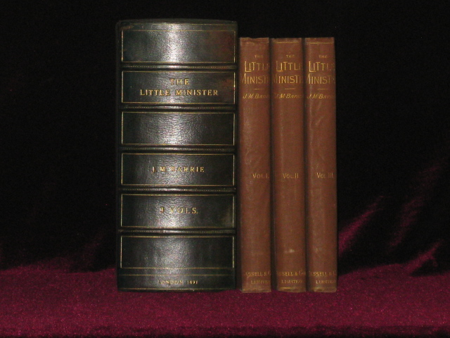 The Little Minister. Three Volumes. J. M. Barrie.