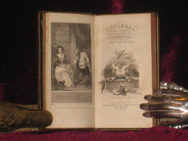 HUDIBRAS, In Three Parts. Written in the Time of the Late Wars. With a Life of the Author, Annotations, and an Index. Samuel Butler.