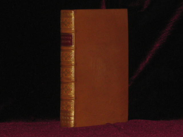 Essays on the Characteristics of the Earl of Shaftesbury. John Brown, M A.