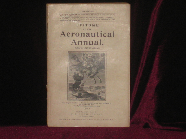 Epitome of the Aeronautical Annual. James Means.