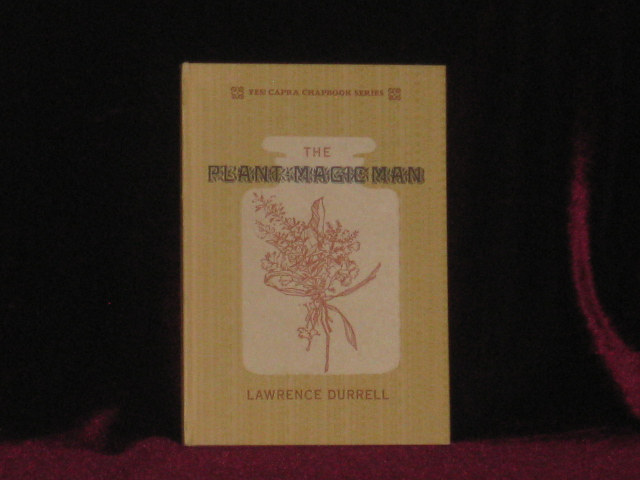 The Plant Magic Man. Lawrence Durrell, SIGNED.