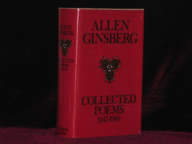 Collected Poems 1947 1980 By Allen Ginsberg Signed On Charles Parkhurst Rare Books Inc