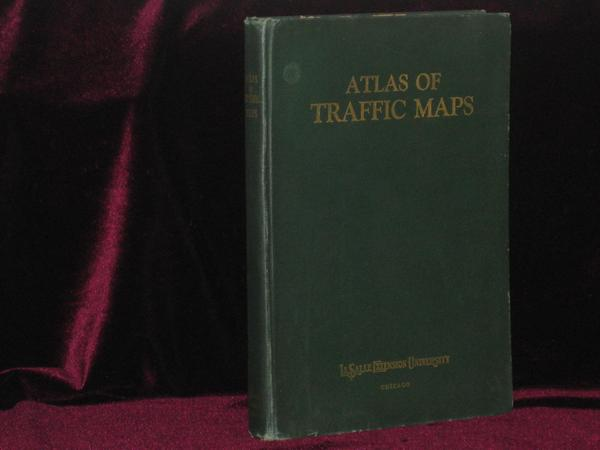 Atlas of Traffic Maps. Charles E. Wymond, Cartographer.
