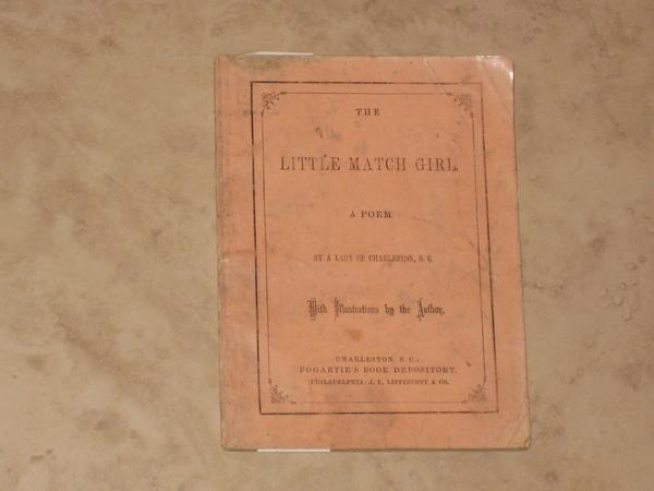 The Little Match Girl. S. C. A Lady of Charleston, H. C. Andersen.