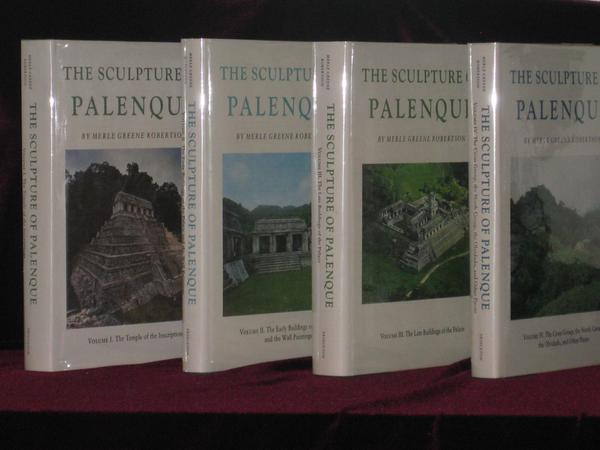 The Sculpture of Palenque (4 Volume set). Merle Greene Robertson.
