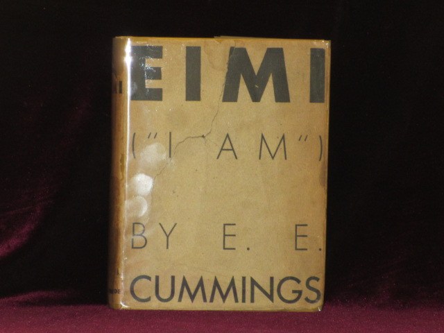 "EIMI (""I AM""). e. e. cummings, SIGNED."