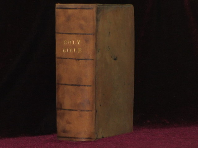 """The Bible, 1608 Geneva Bible, """"Breeches"""" Bible with The New Testament of Our Lord Jesus Christ, 1610"""