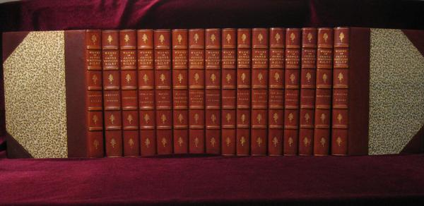 The Poems and Prose Sketches of James Whitcomb Riley; Works; Complete in 16 Volumes. James Whitcomb Riley.
