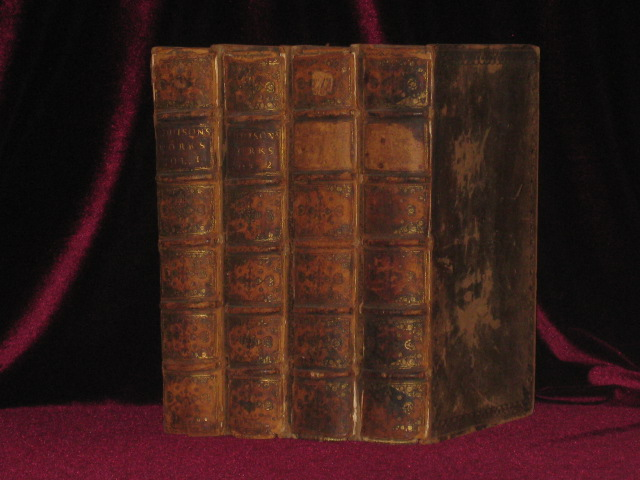 The Works of the Right Honourable Joseph Addison (In 4 volumes). Joseph Addison.