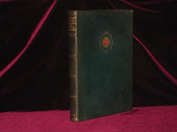 Rubaiyat of Omar Khayyam. The First and Fourth Renderings in English Verse By Edward Fitzgerald with Illustrations By Willy Pogany. Edward Fitzgerald.
