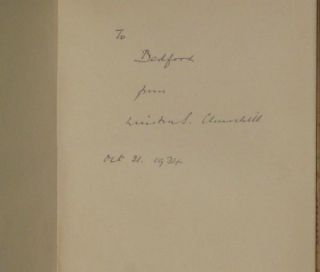 MARLBOROUGH: His Life and Times. INSCRIBED TO THE DUKE OF BEDFORD